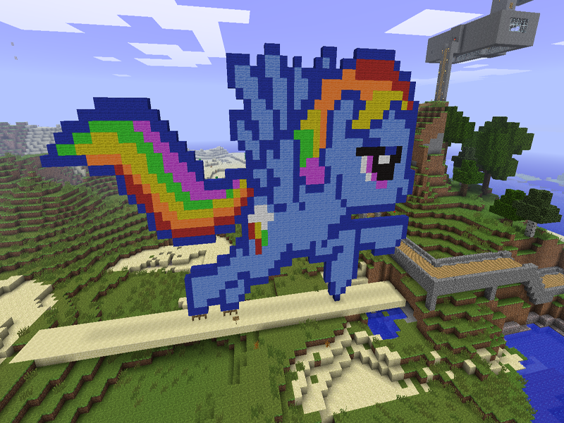 Crafting Mods Mine Little Pony- screenshot