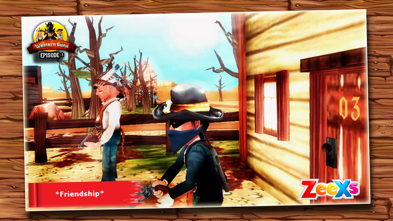 Western Guns 01: Wild Cowboys- screenshot