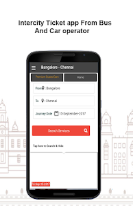OzoBus -Intercity Ticket Booking App for Bus & Car - náhled