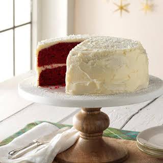 Grandma's Red Velvet Cake.