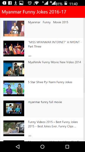 Myanmar Funny Jokes