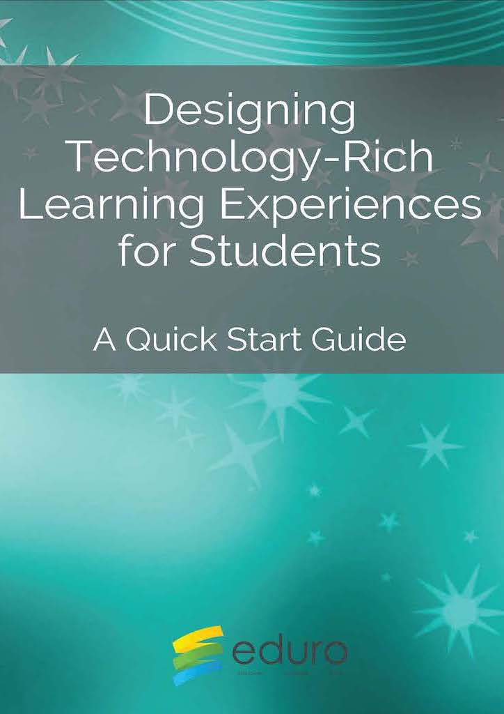 PDF Cover: Designing Technology Rich Learning Experiences A quick start guide