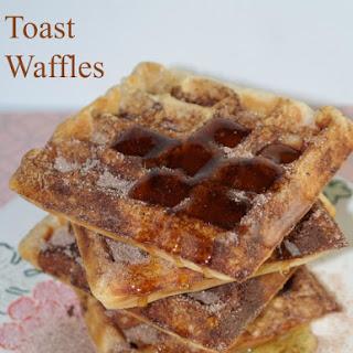 Cinnamon Toast Waffles
