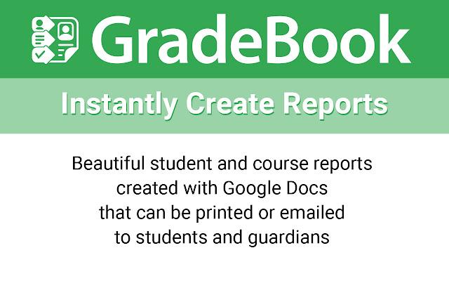 GradeBook for Google Sheets & Classroom - Google Sheets