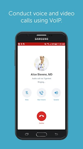 TigerConnect - Clinical Solutions Screenshot