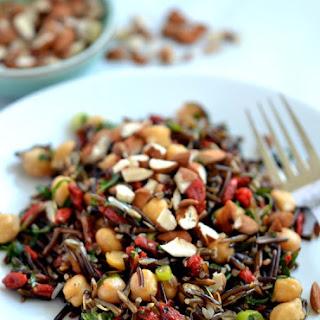 Chickpea, Goji & Wild Rice Salad