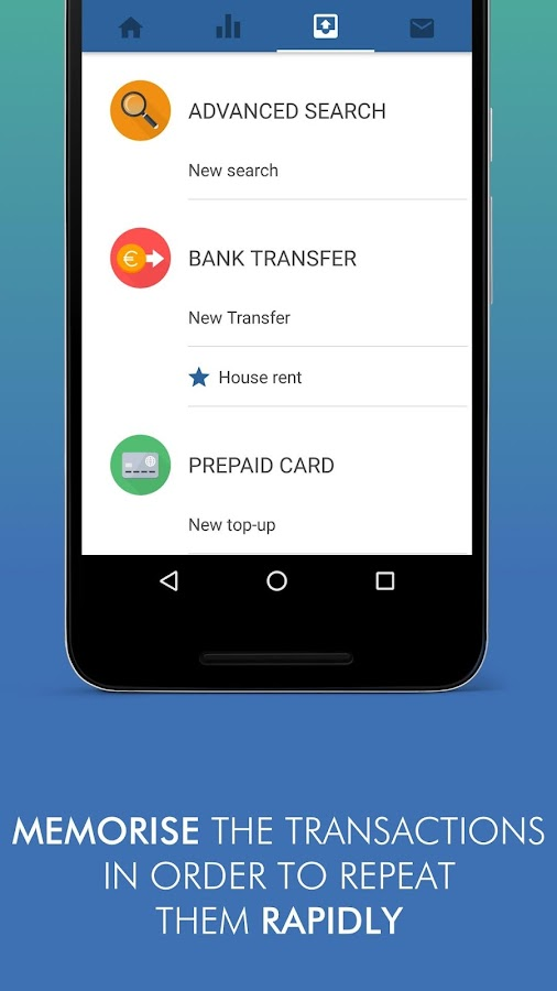 Inbank- screenshot