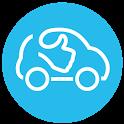 OuiHop' - social ride-hailing & carpooling app icon