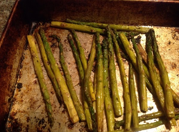 Drizzle w/ Olive oil, dash liberally w/ oregano, and bake for 10 min. Then...