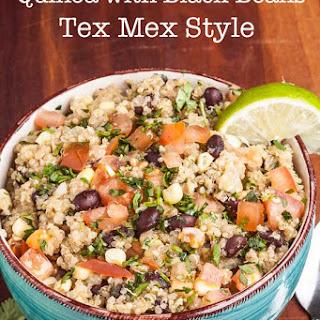 Quinoa with Black Beans (Tex Mex)