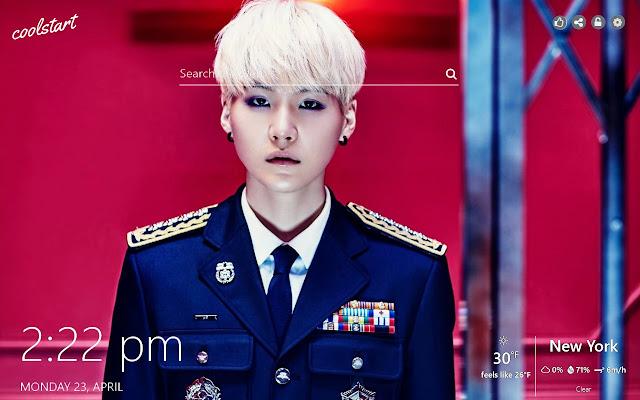 Suga BTS HD Wallpapers K-Pop Music Theme