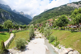 Photo: il torrente Massodi