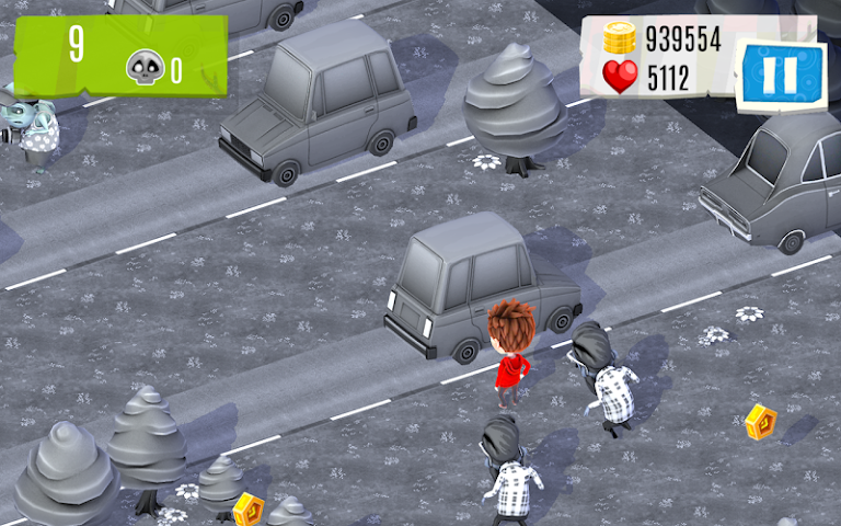android Watch out Zombies! Screenshot 1