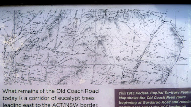 Photo: Map of area in Old Coach rd sign
