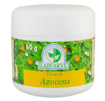 Azucena Labfarve Crema   Frasco X60G.