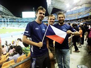 Photo: Vlajku jsme si vypůjčili od jednoho Čecha
