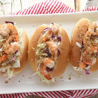 Grilled Caesar Shrimp Rolls