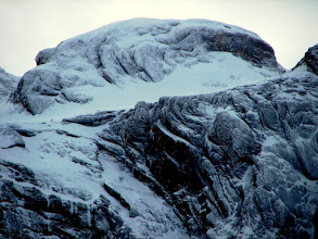 Photo: Otra zona totalmente helada.