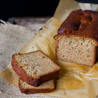 Zucchini Bread {using almond flour}.
