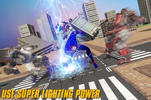 Grand Light Speed Robot Hero City Rescue Mission  screenshots 9