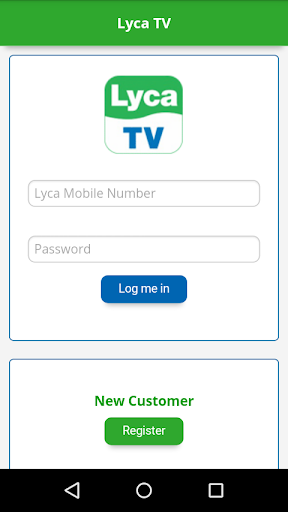 Lyca TV SMS Test