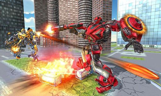 US Police Transform Iron Robot Spider Hero 1.0.3 screenshots 5