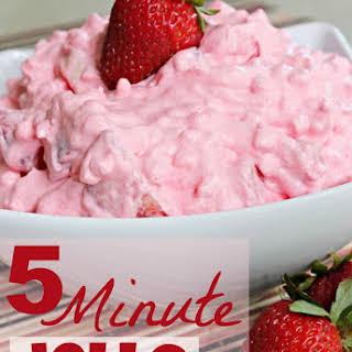 5 Minute Jello Salad.