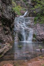 Photo: Lower Resumidero Falls; PEEC Waterfall Hike