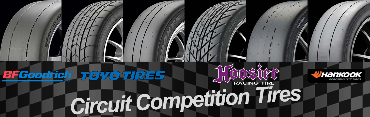 Circuit competition tires