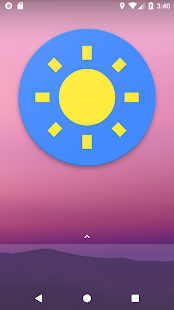 Bright Screen Widget - náhled