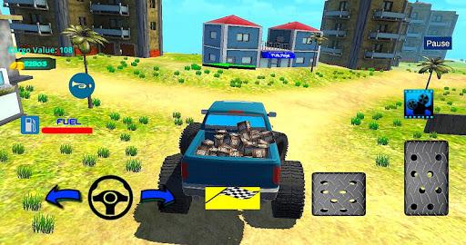 4x4 Off-Road Truck Simulator: Tropical Cargo 4.3 screenshots 9
