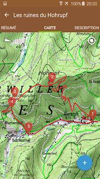 Visorando GPS randonnée