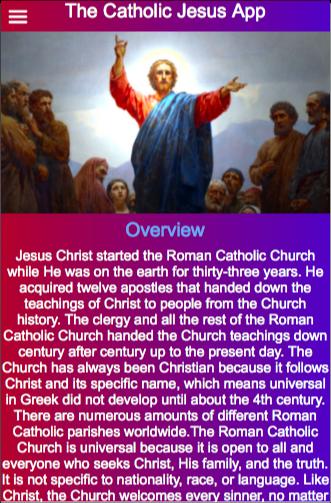 The Catholic Jesus App