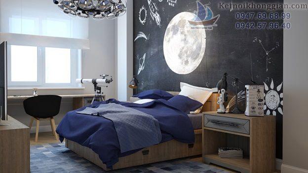 thiết kế phòng ngủ hợp với sở thích các bé