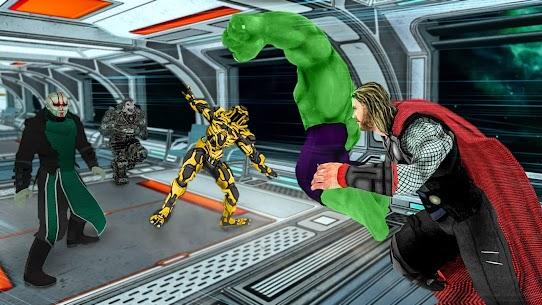Superhero Avenger Strike Force 7