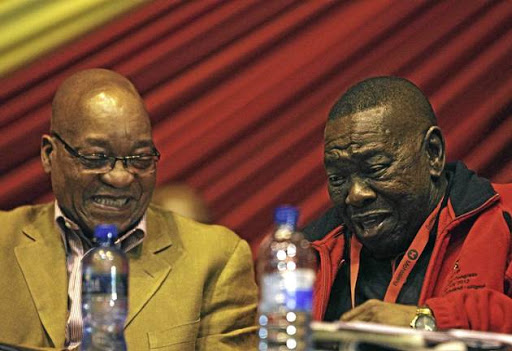 President Jacob Zuma has come under fire from SACP leader Blade Nzimande.
