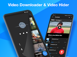 screenshot of Video Hider - Photo Vault, Video Downloader