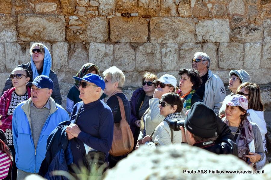 Экскурсия в крепости Ирода Великого. Иродион, Израиль.