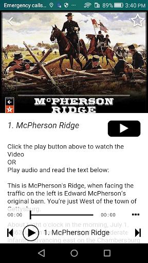 Gettysburg Tour Guide  screenshots 2