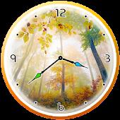 Autumn Analog Clock