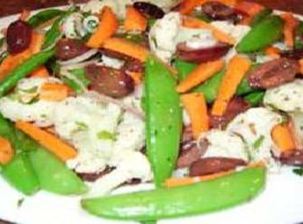 Snap Pea And Cauliflower Salad Recipe