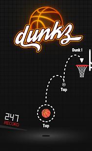 Dunkz - Shoot hoops & slam dunk- screenshot thumbnail