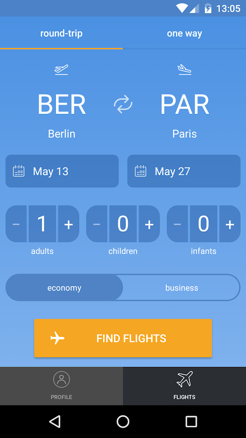 City.Travel — Cheap Flights- screenshot