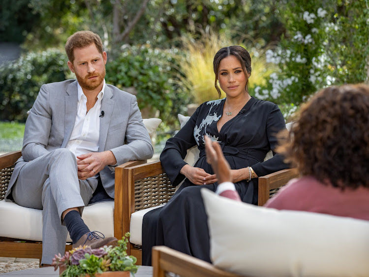 Prince Harry and Meghan Markle opened up in an interviewed by Oprah Winfrey. The segment aired in the US on Sunday.