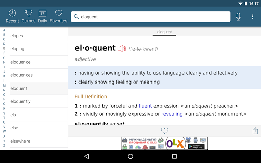 Dictionary - Merriam-Webster screenshot 17