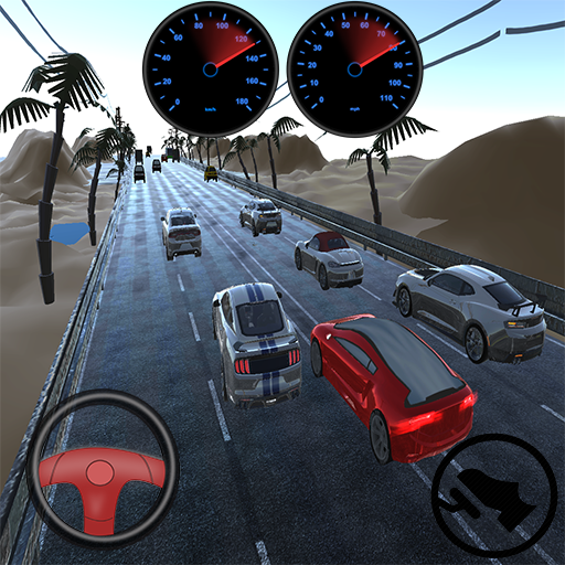 Endless Speed Highway Car Racer
