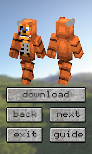 FNAF Skins Pack For Minecraft PE Apps Bei Google Play - Foxy skins fur minecraft
