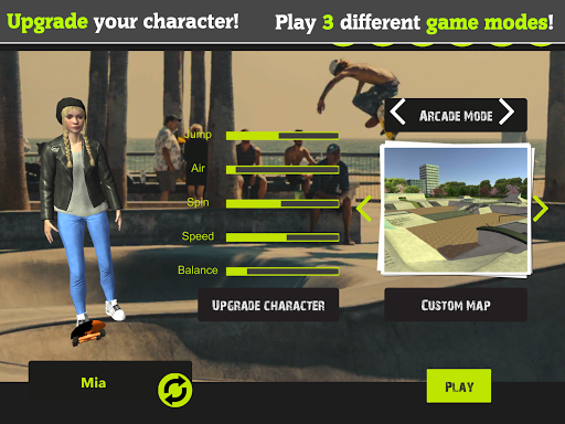 Skateboard FE3D 2 - Freestyle Extreme 3D apkdebit screenshots 15