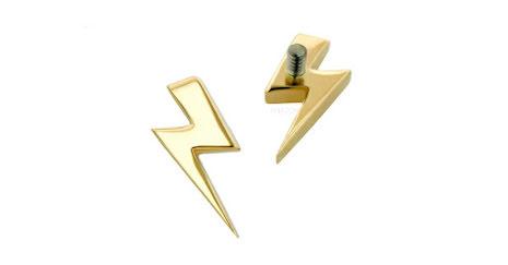 """""""Lightning Bolt"""", 18k"""