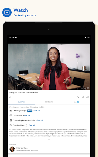 LinkedIn Learning: Online Courses to Learn Skills 0.141.1 Screenshots 10